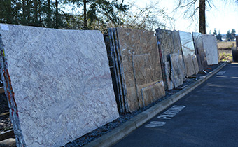 Solid Rock Granite Countertop Slabs