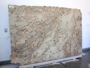 Golden Crystal Satin Granite